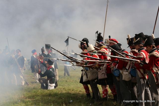 Schlacht an der Göhrde - Nachstellung der historischen Schlacht von 1813