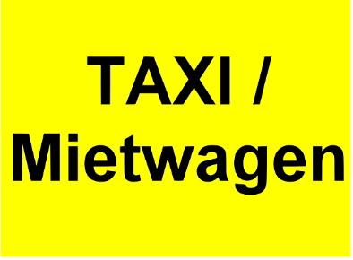 Taxi/ Mietwagenruf - Autoruf und Fahrdienst Christ