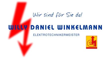 Elektrotechnikermeister Willy Daniel Winkelmann