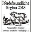 Pferdefreundliche Gemeinde und Pferdefreundliche Region - Auszeichnung 2018
