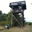 Aussichtsturm zwischen Langendorf und Grippel